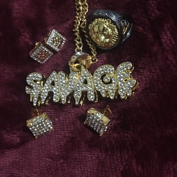 Jewelry - ⚜️Savage bundle⚜️everything included😉🤑